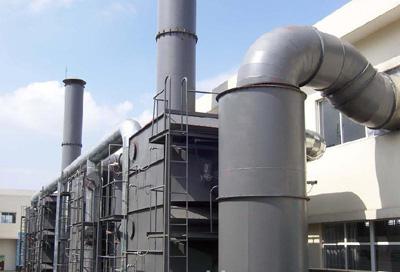 江西新余某电厂烟气改造装置