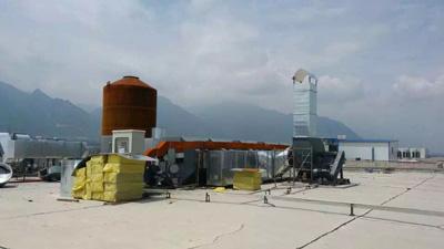 天津东丽区某厂换装蜂窝活性炭